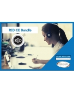 Registry of Interpreters for the Deaf Continuing Education Bundle